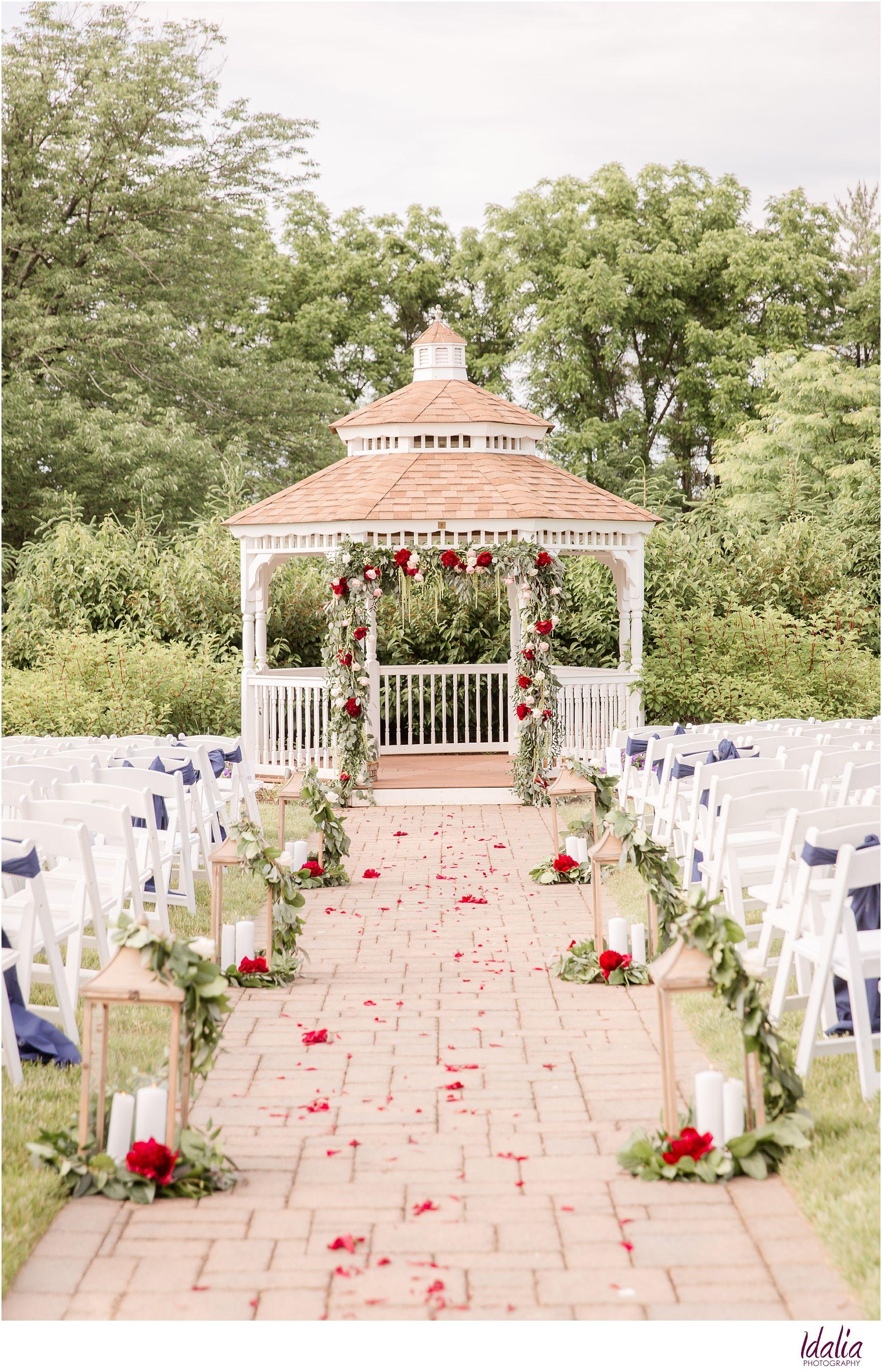 Outdoor Wedding Venues NJ (With images) | Outdoor wedding ...