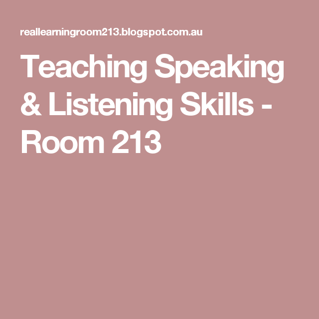 listening skills lesson plans middle school