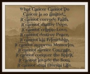childhood cancer quotes | images of as a very wise person told me the other day where there is ...