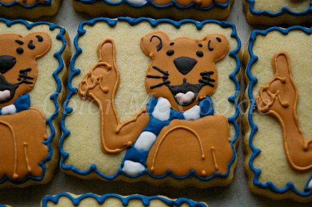 Penn State Wedding Gifts: Penn State Nittany Lion By Color Me Cookie