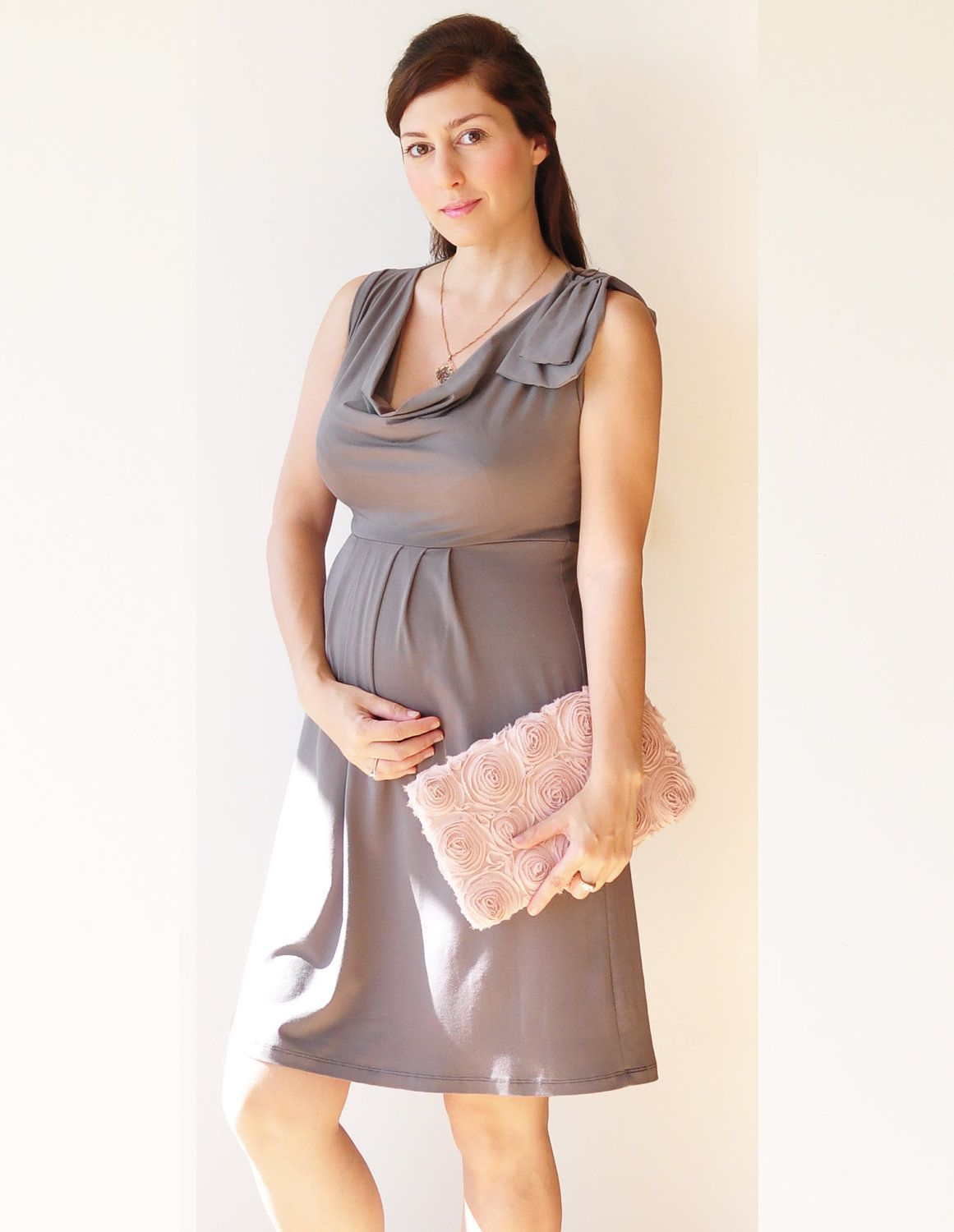 Empire Waist Maternity Dress. Maternity Clothes, Cute Pregnancy ...