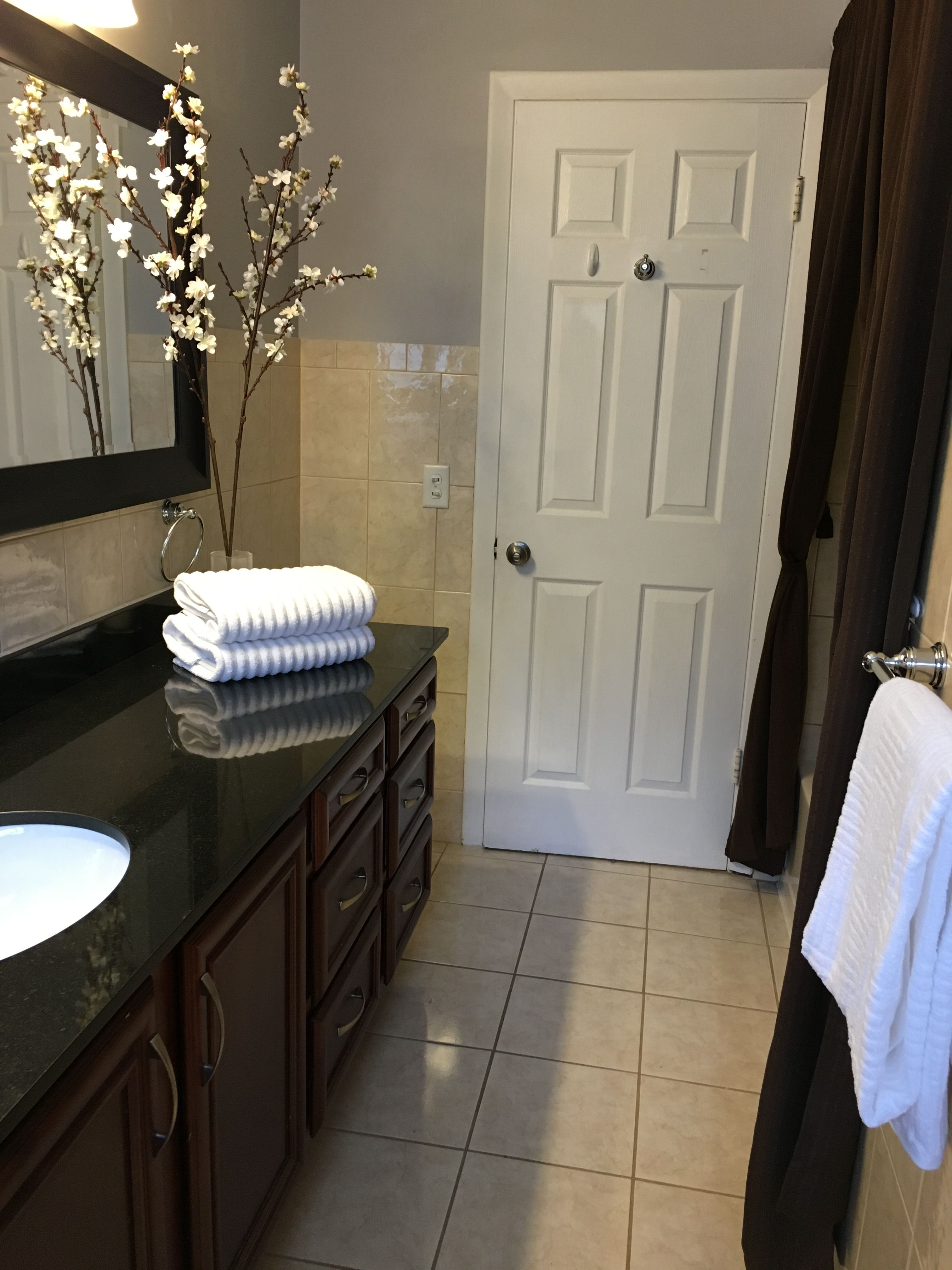 Bathroom Makeovers To Sell bathroom makeover for staging a house to sell. …   pinteres…