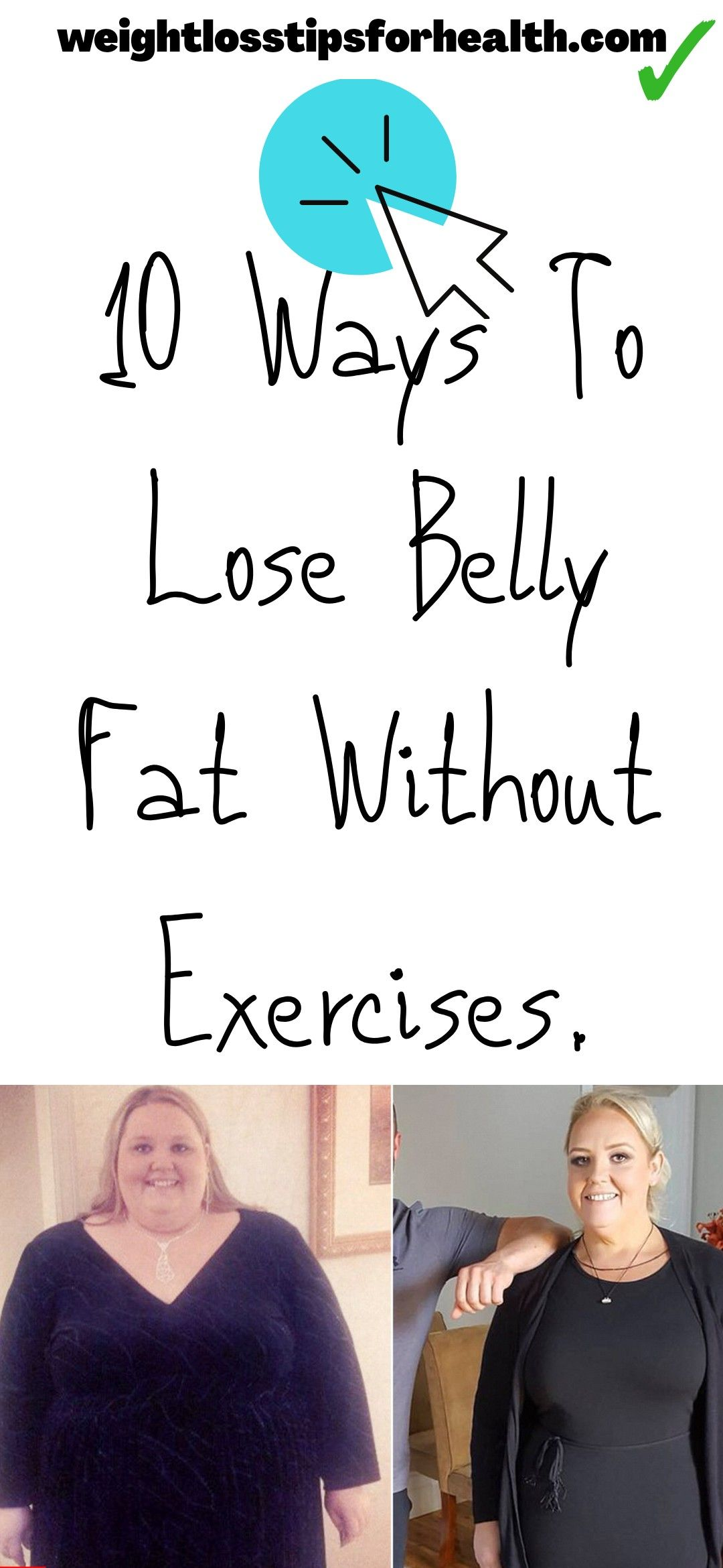 10 Ways to lose belly fat without Exercises | lose belly fat fast and easy | how to lose belly fat