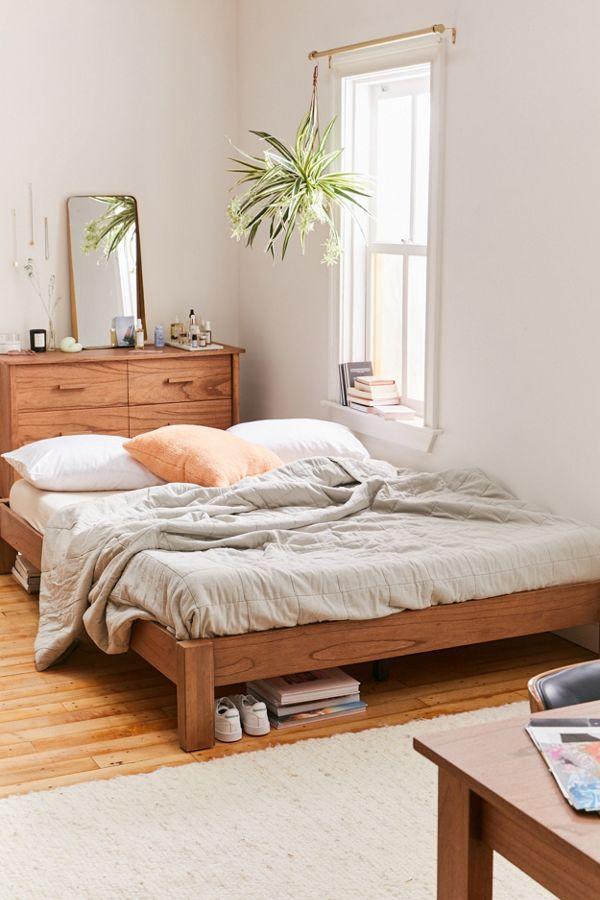 Sadie Platform Bed Platform Bed Apartment Furniture Bed