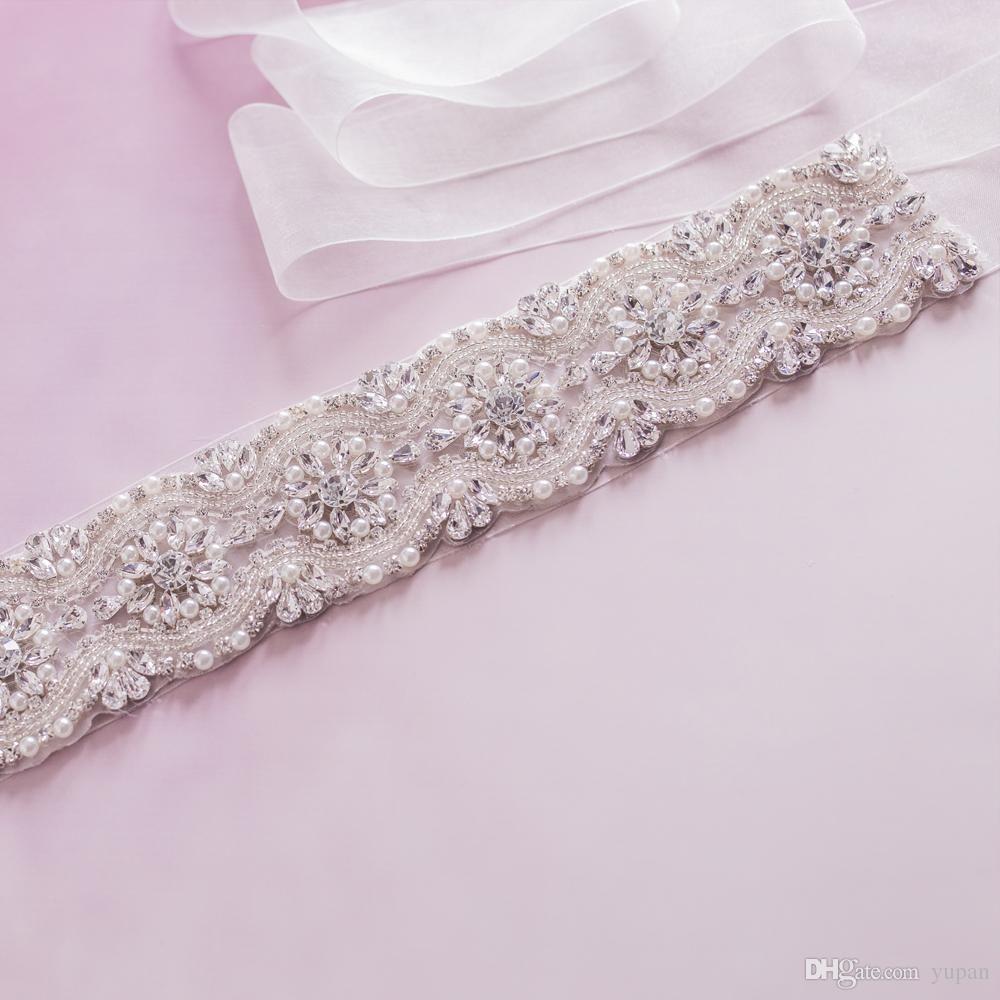 Pearl belt for wedding dress  Bridal Belt Beaded Bridal Sash Crystal Bridal Belt Pearl Wedding