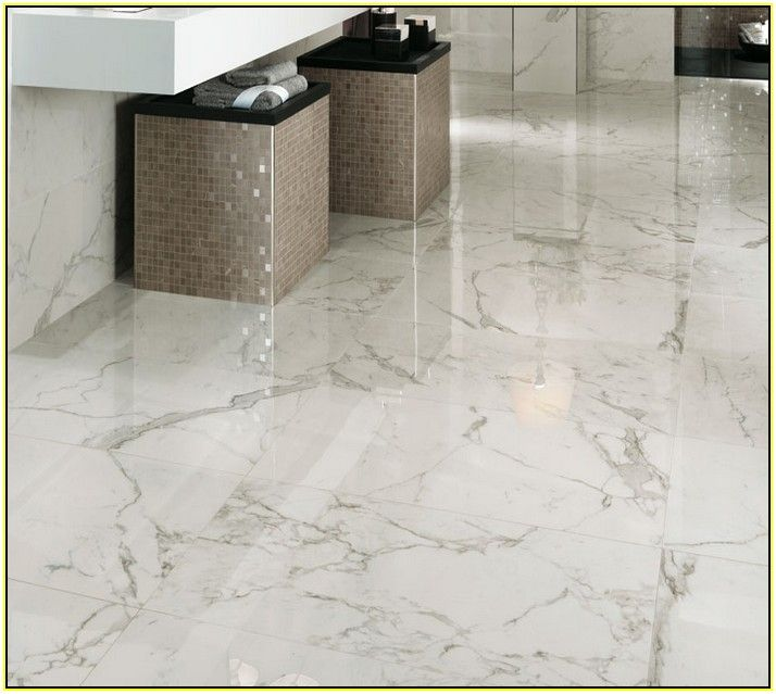 Ceramic Bathroom Tiles Handmade In Italy: Porcelain Tile That Looks Like Carrara Marble