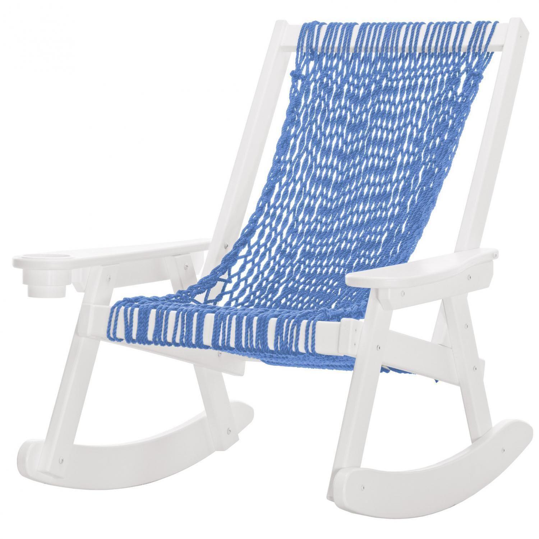 Pawleys Island Coastal Duracord Patio Rope Rocking Chair