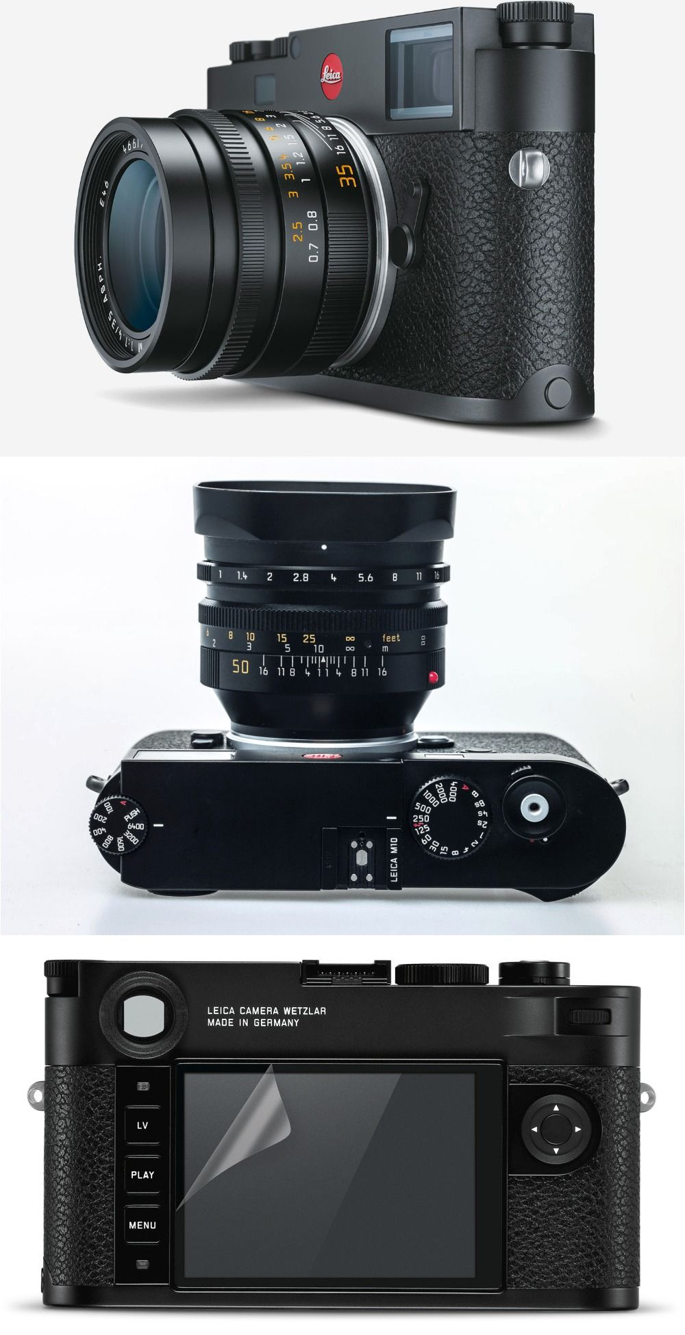 Leica M10 Launched With 24-Megapixel Full-Frame CMOS Sensor and ISO ...