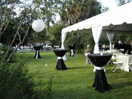 Backyard Tent Weddings