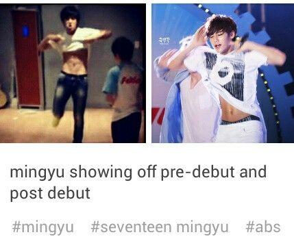 세븐틴 민구 ㅇ_ㅇ Seventeen Mingyu