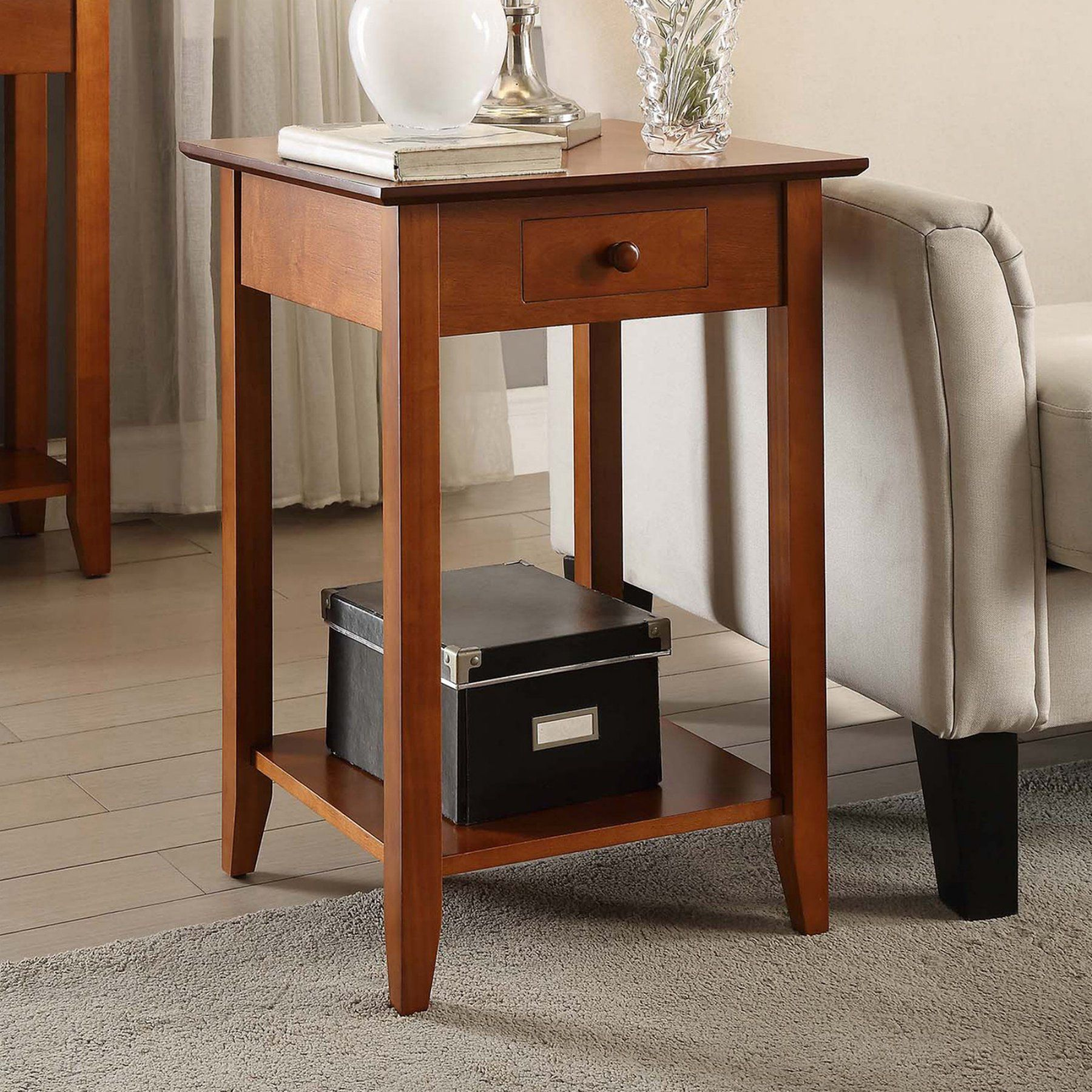 American Heritage Furniture Living Room: Convenience Concepts American Heritage End Table With