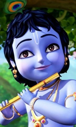 Cute Baby Krishna Cartoon Images Baby Viewer