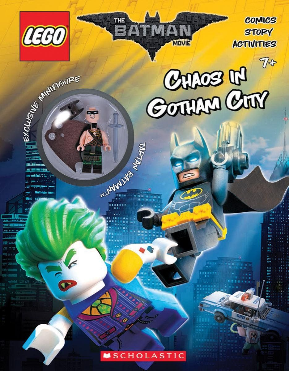 Isbn1338112120 1 The Lego Batman Movie Chaos In Gotham City 71017 Minifigures Series Box Of 60 Isbn 1338112120