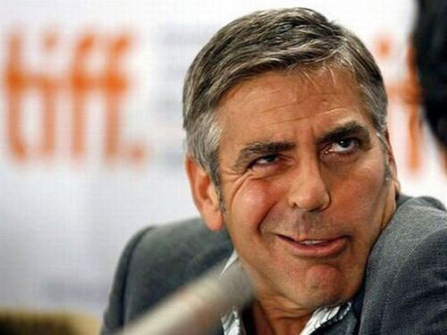Image result for george clooney funny