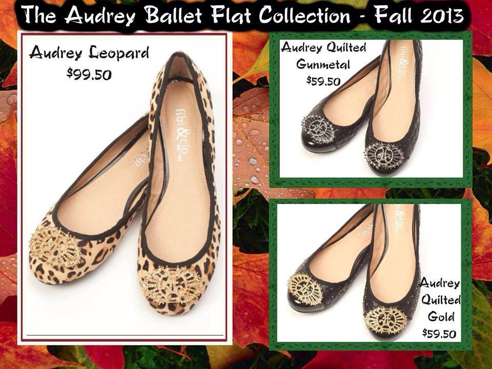 New Fibi & Clo Ballet Flats!