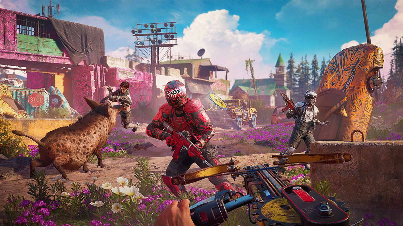 How To Play Far Cry New Dawn In Dad Mode Apocalyptic Far Cry Game Far Cry 5