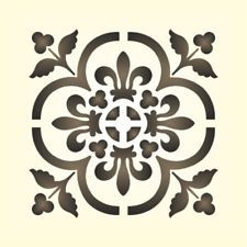maler wandschablone wandschablonen schablone historisches ornament 12 garten. Black Bedroom Furniture Sets. Home Design Ideas