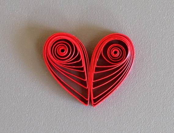 Quilled Valentines Day Craft Projects And Ideas 2 Quiling