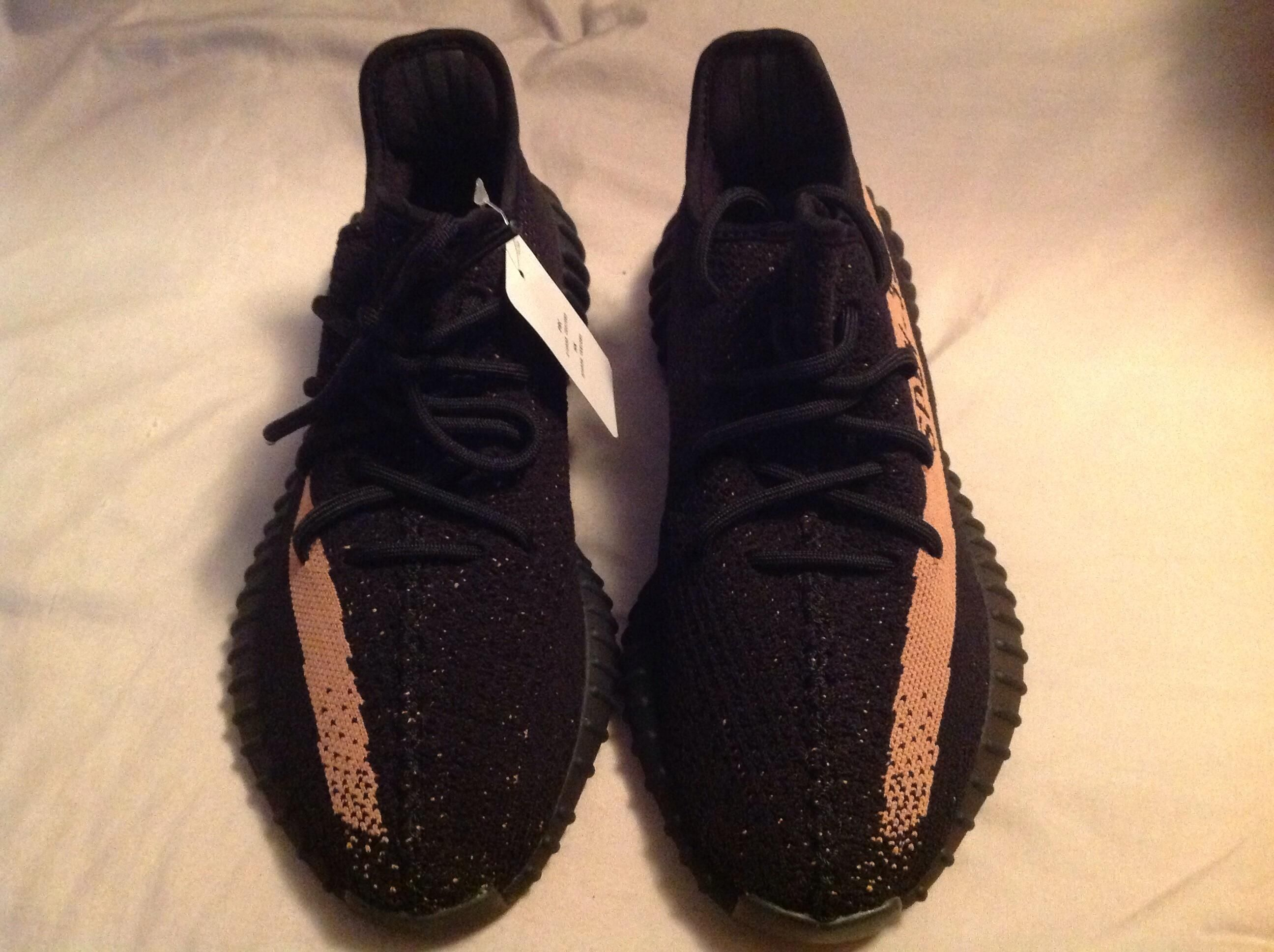 Authentic Yeezy 350 Boost v2 Copper Size 9.5 Og All Yeezy 350
