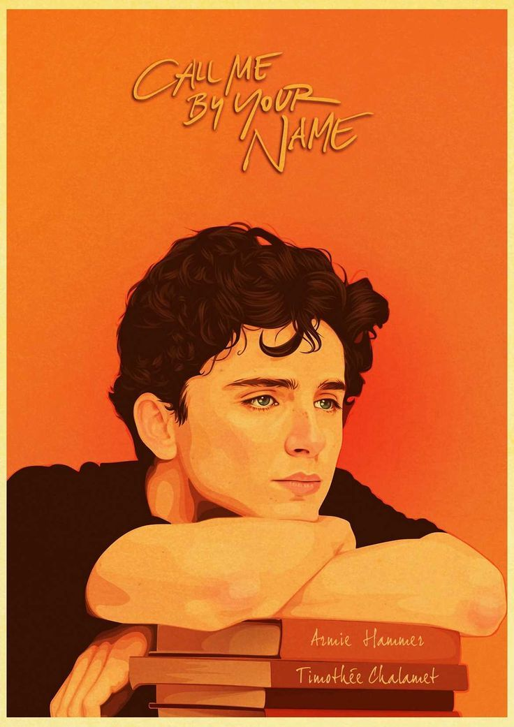 Photo of Award winning movie Call Me by Your Name Retro Poster Bar Cafe Good Quality Printed Drawing core Dec