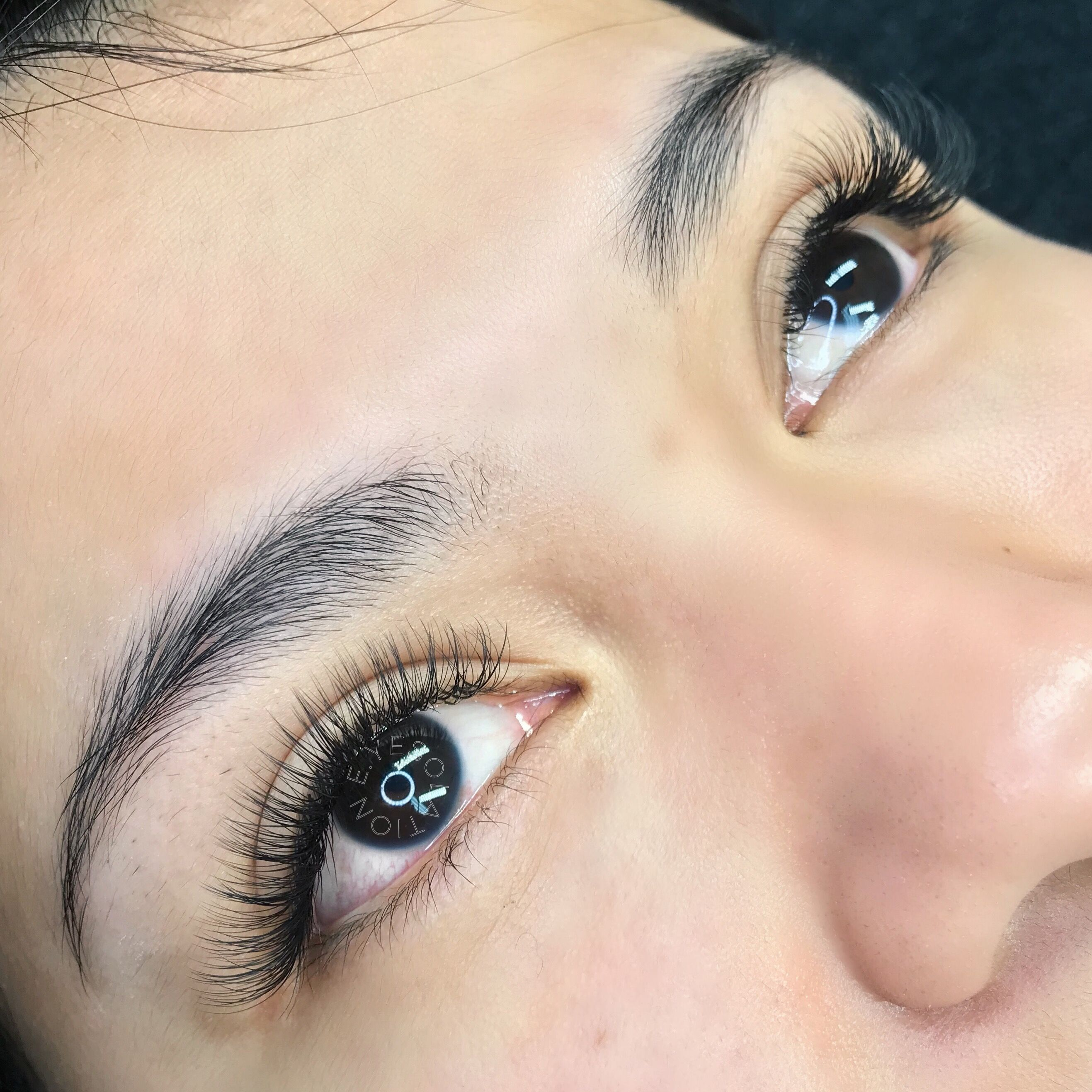 Hybrid set of Eyelash Extensions | Eyelash extentions ...