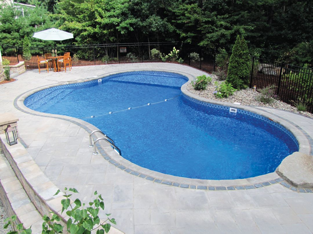 Pool Shapes And Sizes Google Search Inground Pool Landscaping
