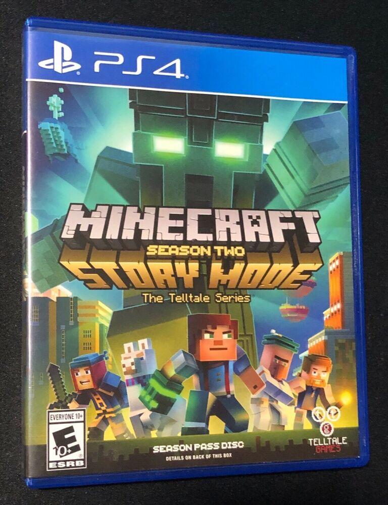 Minecraft Story Mode Season 2 Ps4 Sony Playstation 4