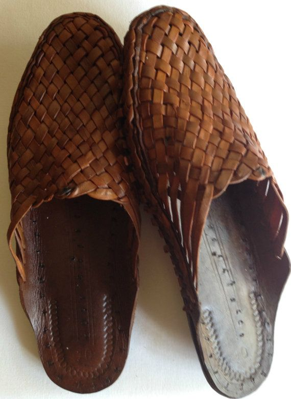 Woven Slip On Shoes