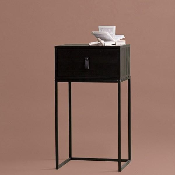 Best Zola Pine Bedside Table With Drawer Bedroom Night Stands 400 x 300