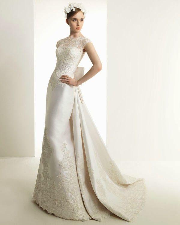 Sonar boda vestida de blanco