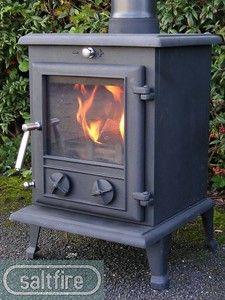8kw Oslo Multi Fuel Wood Burning Log Burner Medium Cast Iron Stove Ebay
