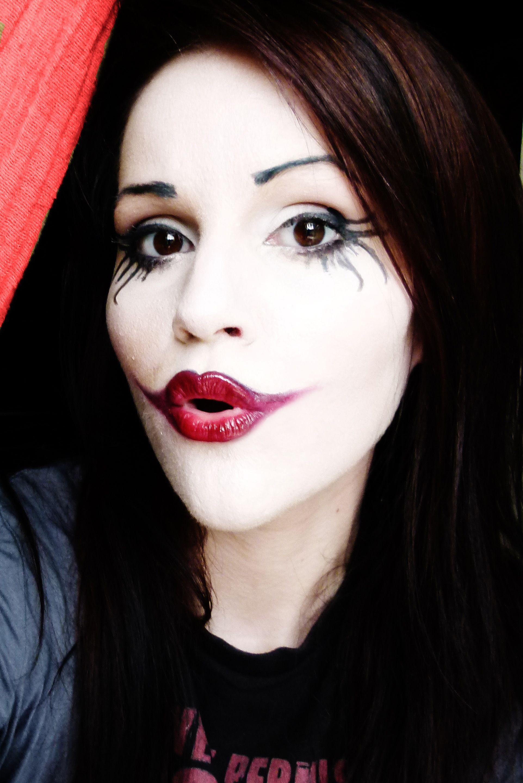 Joker Makeup Like The Lips Joker Makeup Halloween Beauty