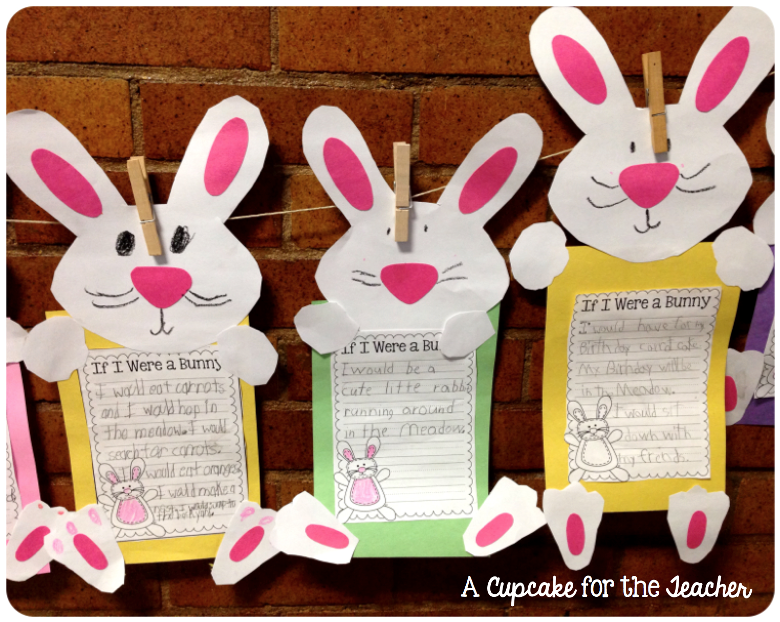 Bunny Hoppin In First Grade A Cupcake For The Teacher 1st Grade