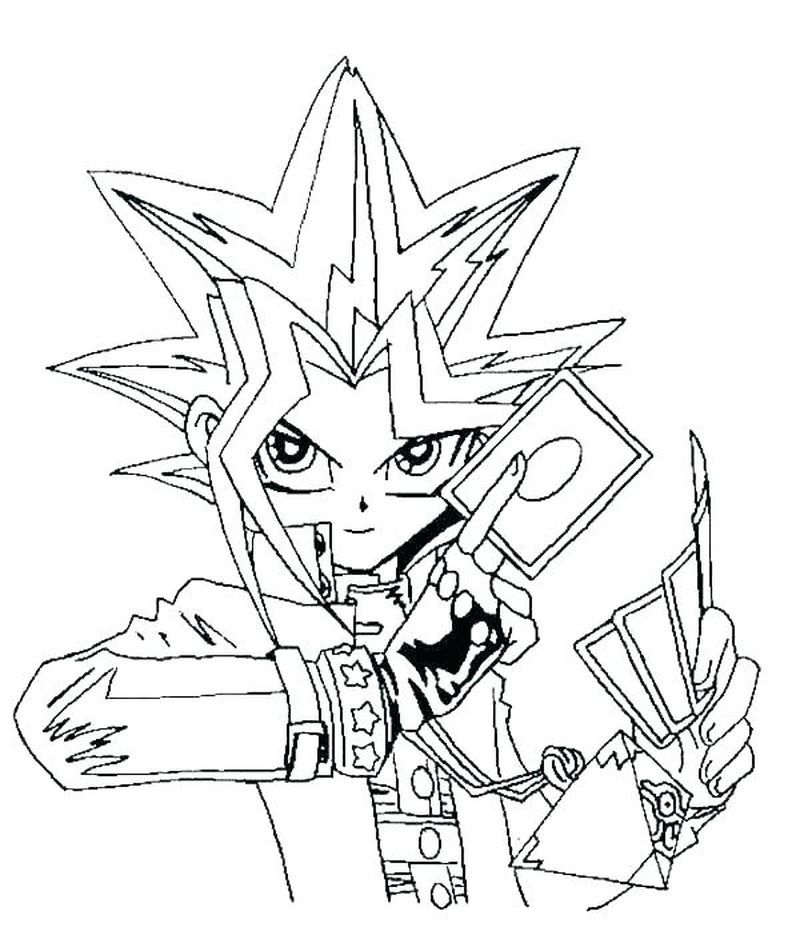 Yu Gi Oh Book Free Cartoon Coloring Pages Cool Coloring Pages Coloring Pages