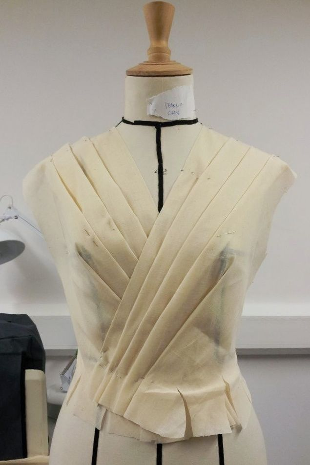 Draping On The Stand Dress Bodice Development With