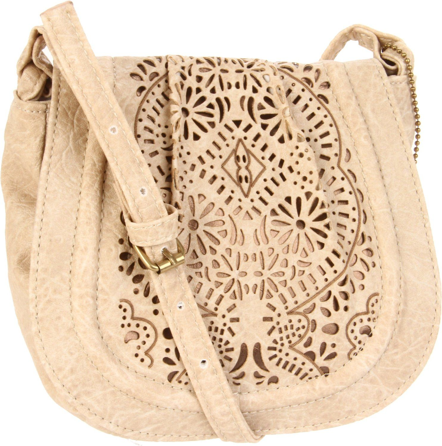 Cute over the shoulder purse. Neutral colors go with every outfit ...
