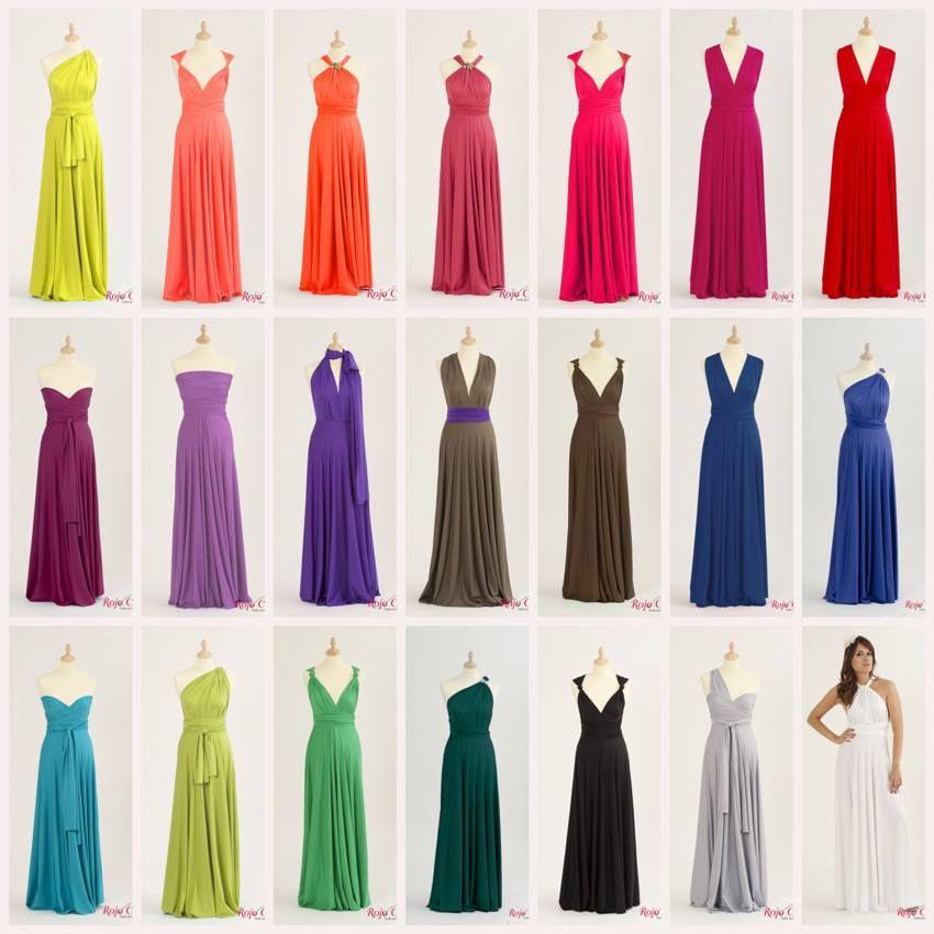 Rojocarmesi Convertibledress Aquí Algunos De Los Colores