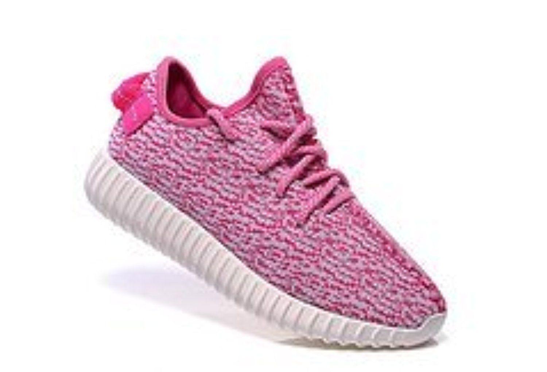 Adidas 350 Kanye pink coconut fabric
