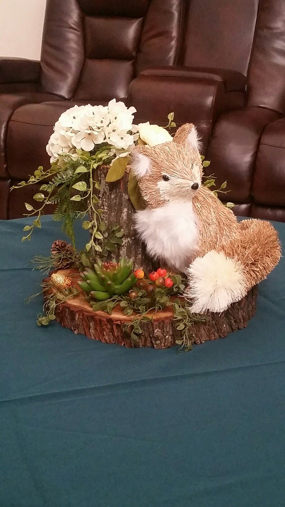 Woodland Themed Centerpieces Woodland Baby Shower Centerpieces