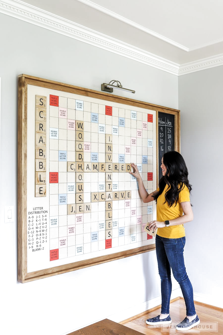 Woodworking Projects Games How To Make A Diy Giant Wall Scrabble Game Woodworking Projects Games How To Make A Diy Giant Wall Scrabble Game Scrabble Diy Wall