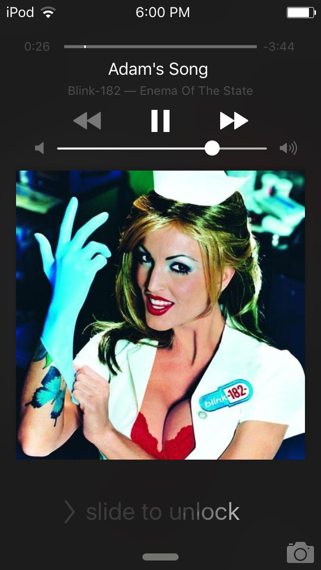 Enema Of The State Album Cover Poster Giclée Blink-182