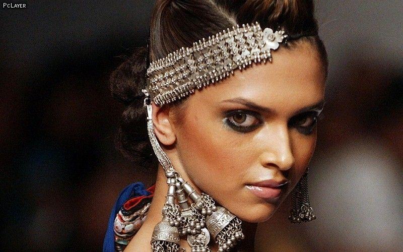 Deepika Padukone in her modeling days | Silver jhumkas, Jhumka, Deepika padukone