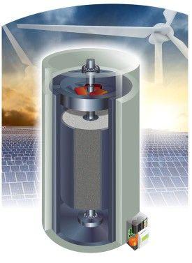 Voss Volant De Stockage Solaire Volant D Inertie Stockage Energie Solaire