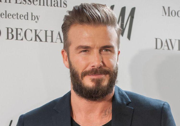 Vollbart David Beckham Frisur Quiff Hair Beard Grooming Hair