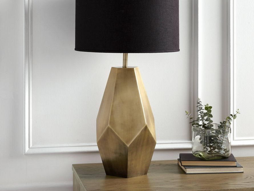 Bezier Gold Table Lamp Unique Table Lamps Geometric Table Lamp