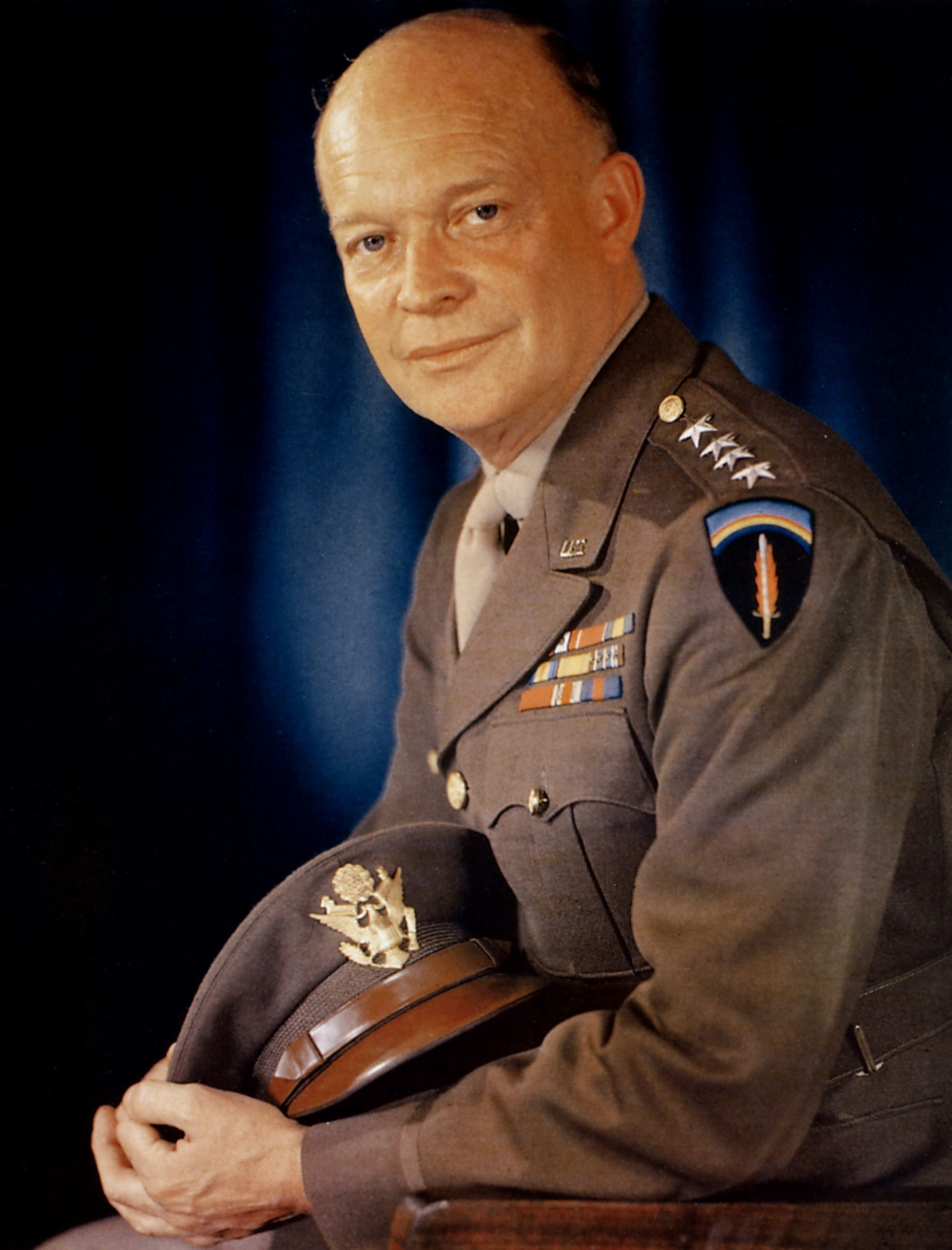 General Dwight D Eisenhower Was Our 34th President After He