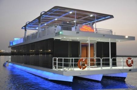 houseboat catamaran - Google Search