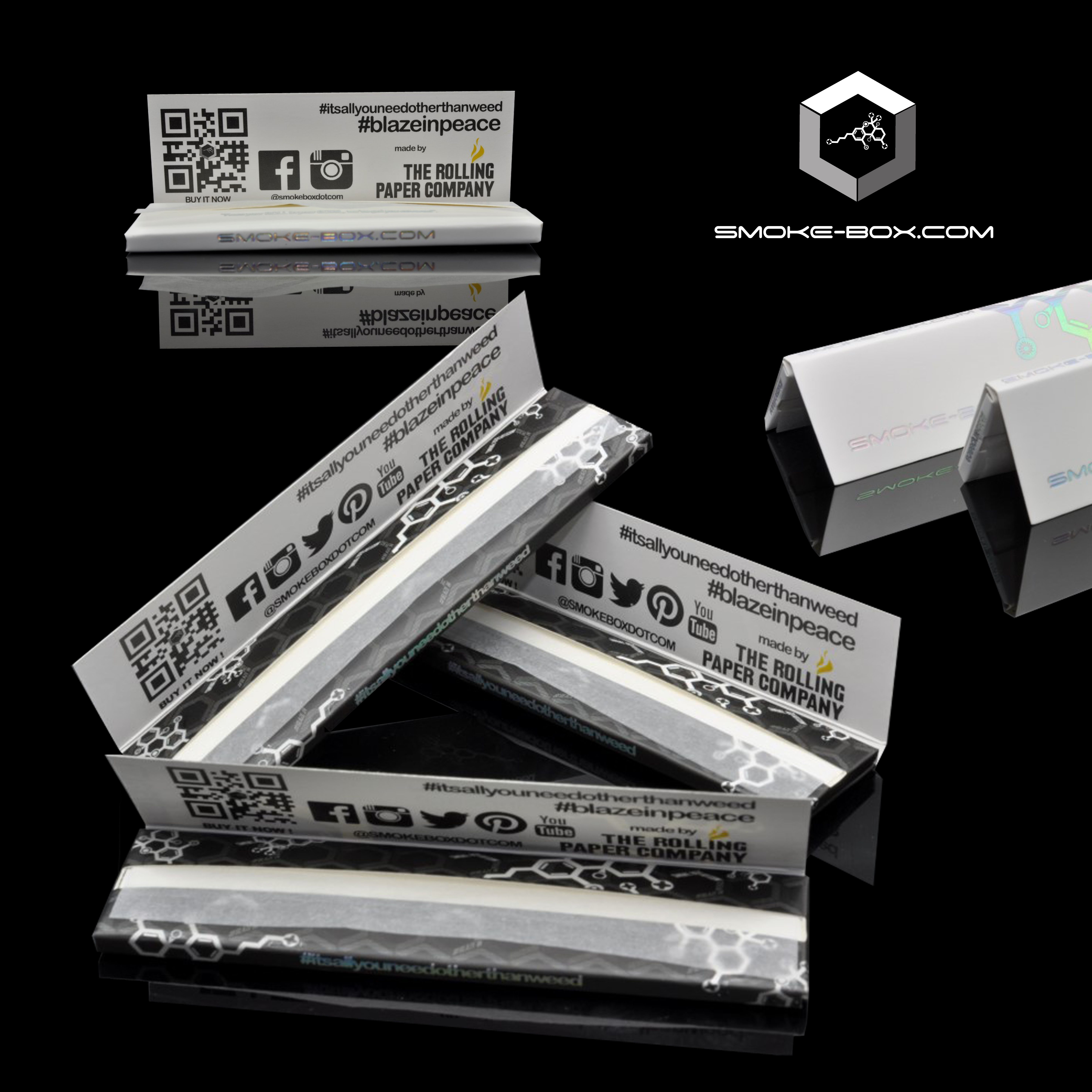 Can You Get High From Smoking Paper Our Partners At The Rolling Paper Company Have Made A Limited Edition Collaboration For The Smoke Box One 2 Sizes O Paper Companies Rolling Paper Rolled Paper