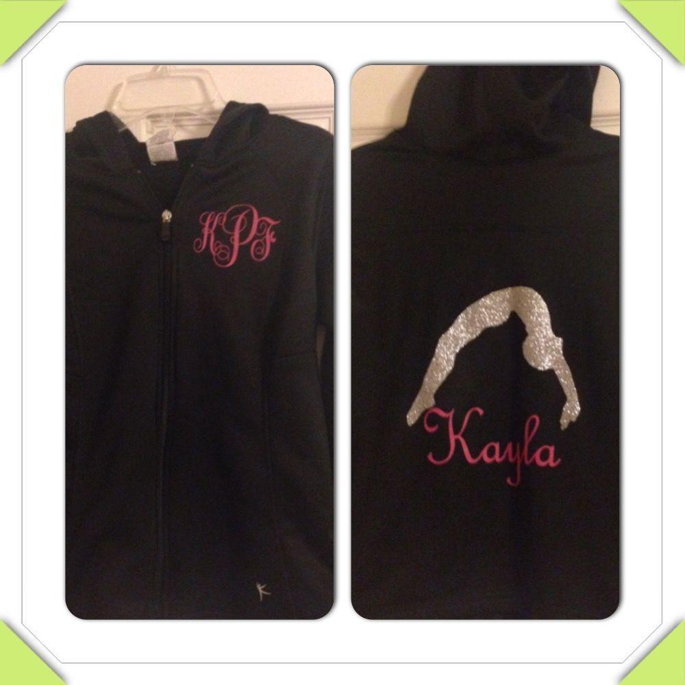 Gymnastics jacket for Kayla!