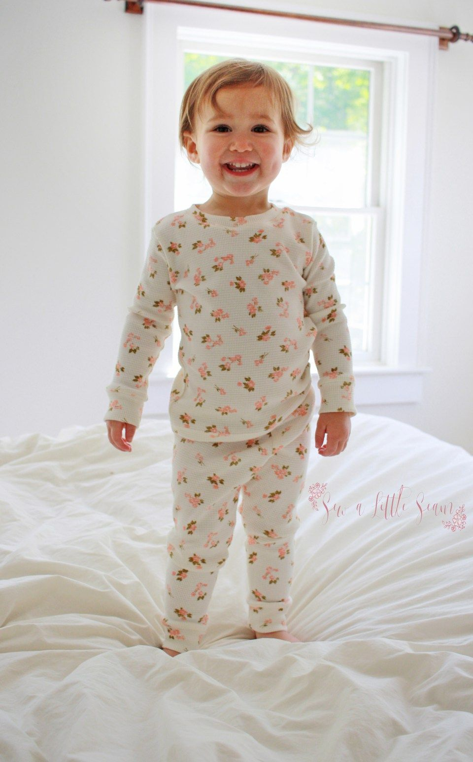 Free Pajama Sewing Pattern | Baby pajamas pattern, Toddler ...